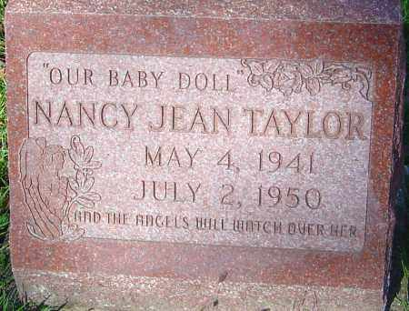 TAYLOR, NANCY JEAN - Franklin County, Ohio | NANCY JEAN TAYLOR - Ohio Gravestone Photos