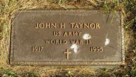 TAYNOR, JOHN H. - Franklin County, Ohio | JOHN H. TAYNOR - Ohio Gravestone Photos