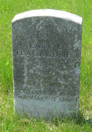 TEAGARDNER, EARL E. - Franklin County, Ohio | EARL E. TEAGARDNER - Ohio Gravestone Photos