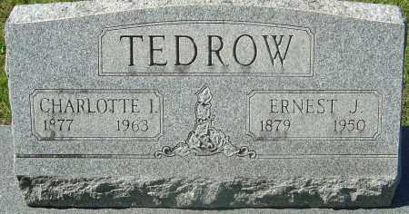TEDROW, ERNEST J - Franklin County, Ohio | ERNEST J TEDROW - Ohio Gravestone Photos