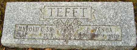 TEFFT, HAROLD C - Franklin County, Ohio | HAROLD C TEFFT - Ohio Gravestone Photos