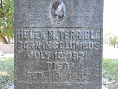 TERRIBLE, HELEN M. - Franklin County, Ohio | HELEN M. TERRIBLE - Ohio Gravestone Photos
