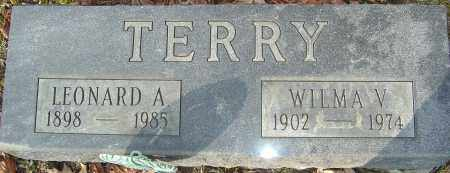 TERRY, LEONARD A - Franklin County, Ohio | LEONARD A TERRY - Ohio Gravestone Photos