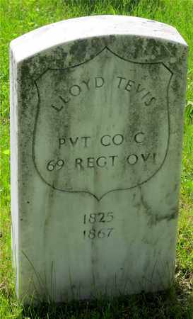 TEVIS, LLOYD - Franklin County, Ohio | LLOYD TEVIS - Ohio Gravestone Photos