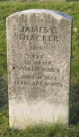 THACKER, JAMES C. - Franklin County, Ohio | JAMES C. THACKER - Ohio Gravestone Photos