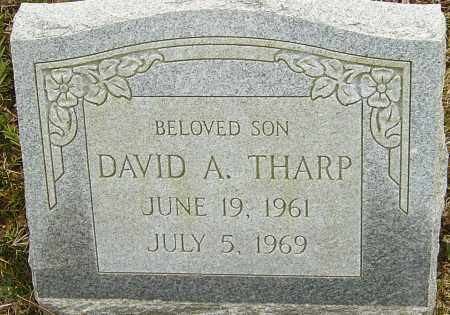 THARP, DAVID A - Franklin County, Ohio | DAVID A THARP - Ohio Gravestone Photos