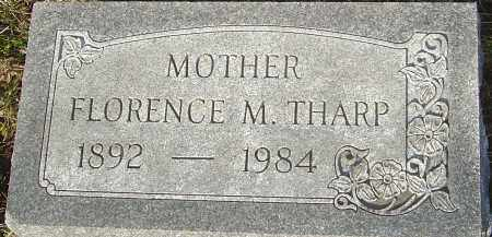 THARP, FLORENCE M - Franklin County, Ohio | FLORENCE M THARP - Ohio Gravestone Photos