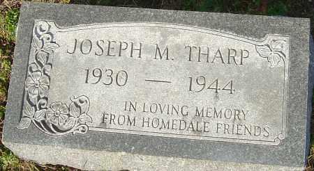 THARP, JOSEPH M - Franklin County, Ohio | JOSEPH M THARP - Ohio Gravestone Photos