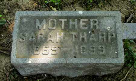 THARP, SARAH - Franklin County, Ohio | SARAH THARP - Ohio Gravestone Photos