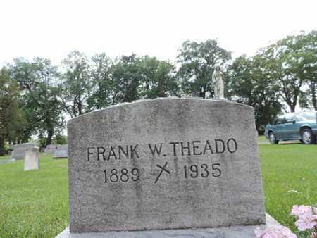 THEADO, FRANK W. - Franklin County, Ohio | FRANK W. THEADO - Ohio Gravestone Photos