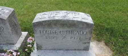 THEADO, LOUISE C. - Franklin County, Ohio | LOUISE C. THEADO - Ohio Gravestone Photos