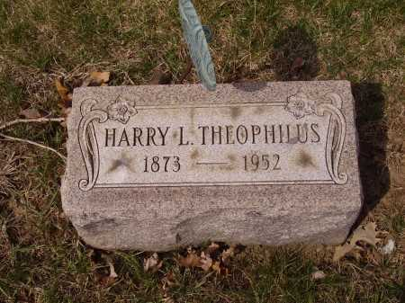 THEOPHILUS, HARRY - Franklin County, Ohio | HARRY THEOPHILUS - Ohio Gravestone Photos