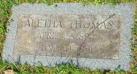 THOMAS, ALETHA - Franklin County, Ohio | ALETHA THOMAS - Ohio Gravestone Photos