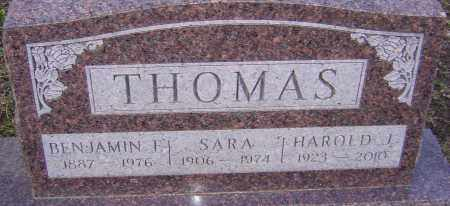 THOMAS, HAROLD - Franklin County, Ohio | HAROLD THOMAS - Ohio Gravestone Photos