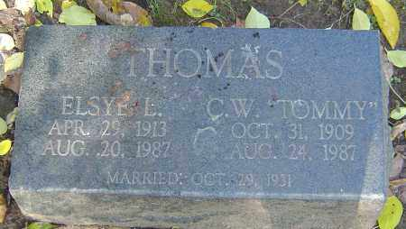THOMAS, C W - Franklin County, Ohio | C W THOMAS - Ohio Gravestone Photos