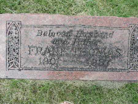 THOMAS, FRANK - Franklin County, Ohio | FRANK THOMAS - Ohio Gravestone Photos