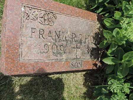 THOMAS, FRANK R. - Franklin County, Ohio | FRANK R. THOMAS - Ohio Gravestone Photos