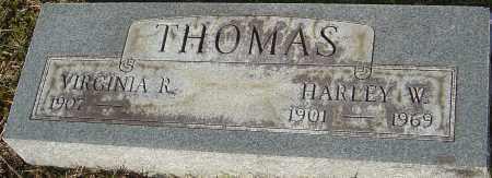 THOMAS, HARLEY W - Franklin County, Ohio   HARLEY W THOMAS - Ohio Gravestone Photos