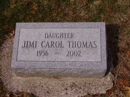 THOMAS, JIMI CAROL - Franklin County, Ohio | JIMI CAROL THOMAS - Ohio Gravestone Photos