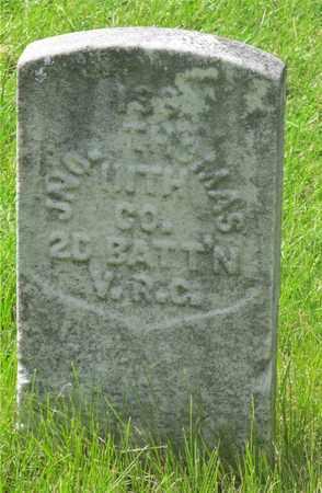 THOMAS, JNO. - Franklin County, Ohio | JNO. THOMAS - Ohio Gravestone Photos
