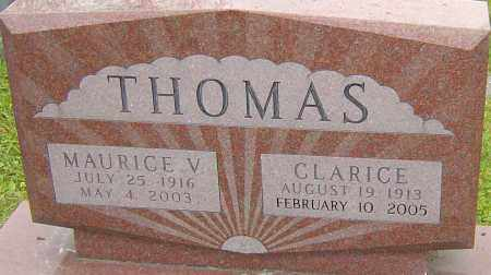RICE THOMAS, CLARICE - Franklin County, Ohio | CLARICE RICE THOMAS - Ohio Gravestone Photos