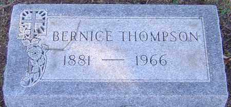 THOMPSON, BERNICE - Franklin County, Ohio | BERNICE THOMPSON - Ohio Gravestone Photos