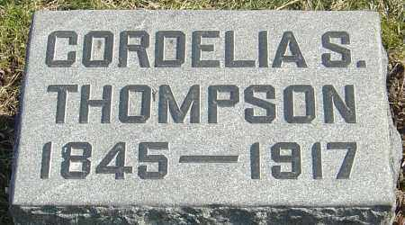 THOMPSON, CORDELIA - Franklin County, Ohio | CORDELIA THOMPSON - Ohio Gravestone Photos