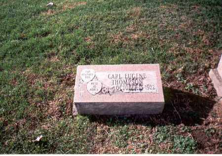 THOMPSON, CARL EUGENE - Franklin County, Ohio | CARL EUGENE THOMPSON - Ohio Gravestone Photos