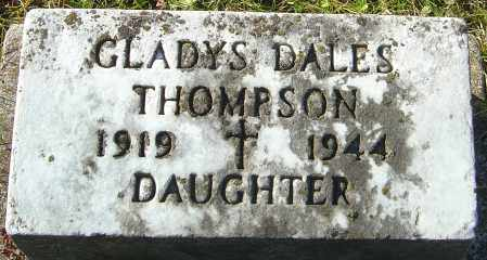 DALES THOMPSON, GLADYS - Franklin County, Ohio | GLADYS DALES THOMPSON - Ohio Gravestone Photos
