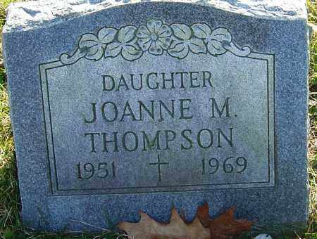 THOMPSON, JOANNE M - Franklin County, Ohio | JOANNE M THOMPSON - Ohio Gravestone Photos