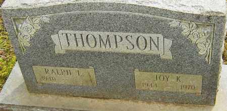 THOMPSON, JOY K - Franklin County, Ohio | JOY K THOMPSON - Ohio Gravestone Photos
