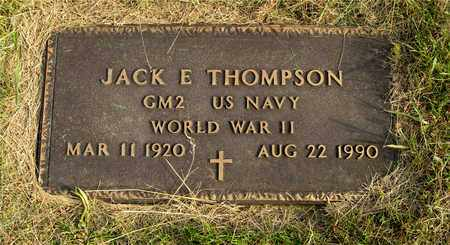 THOMPSON, JACK E. - Franklin County, Ohio | JACK E. THOMPSON - Ohio Gravestone Photos