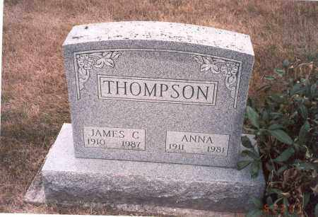 THOMPSON, JAMES C. - Franklin County, Ohio | JAMES C. THOMPSON - Ohio Gravestone Photos