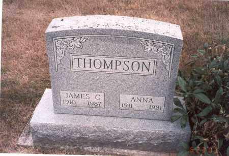 THOMPSON, ANNA - Franklin County, Ohio | ANNA THOMPSON - Ohio Gravestone Photos