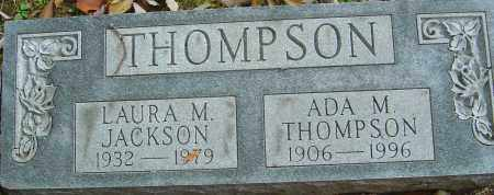 THOMPSON, ADA MAE - Franklin County, Ohio | ADA MAE THOMPSON - Ohio Gravestone Photos