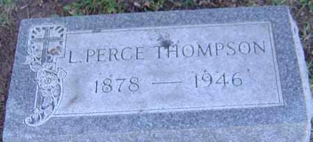THOMPSON, LEWIS PERCE - Franklin County, Ohio | LEWIS PERCE THOMPSON - Ohio Gravestone Photos