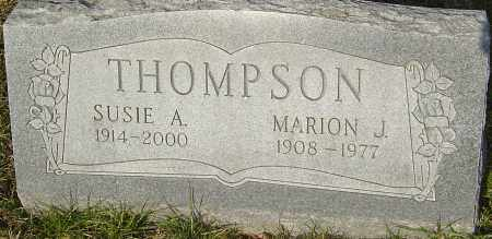 THOMPSON, MARION J - Franklin County, Ohio | MARION J THOMPSON - Ohio Gravestone Photos