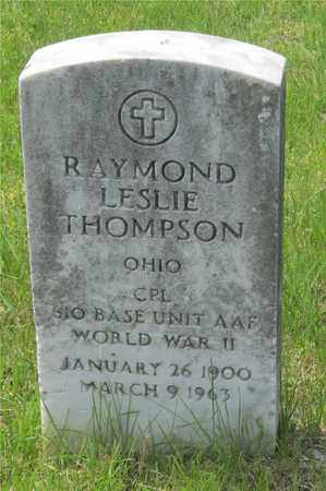 THOMPSON, RAYMOND LESLIE - Franklin County, Ohio | RAYMOND LESLIE THOMPSON - Ohio Gravestone Photos