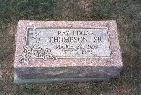 THOMPSON, SR, RAY EDGAR - Franklin County, Ohio | RAY EDGAR THOMPSON, SR - Ohio Gravestone Photos