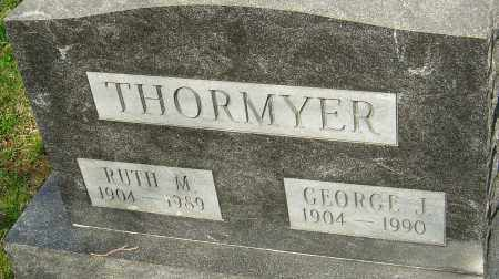 THORMYER, GEORGE J - Franklin County, Ohio | GEORGE J THORMYER - Ohio Gravestone Photos