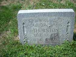 CARLSON THORTON, DEBORAH RUTH - Franklin County, Ohio | DEBORAH RUTH CARLSON THORTON - Ohio Gravestone Photos