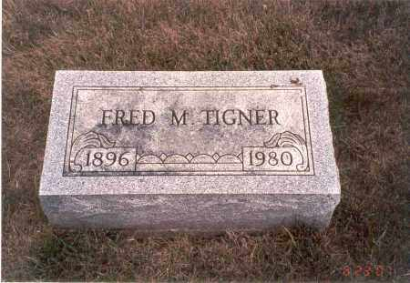 TIGNER, FRED M. - Franklin County, Ohio | FRED M. TIGNER - Ohio Gravestone Photos