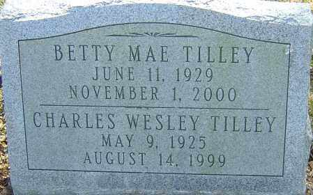 TILLEY, BETTY MAE - Franklin County, Ohio | BETTY MAE TILLEY - Ohio Gravestone Photos