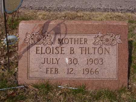 TILTON, ELOISE B. - Franklin County, Ohio | ELOISE B. TILTON - Ohio Gravestone Photos