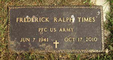 TIMES, FREDERICK RALPH - Franklin County, Ohio | FREDERICK RALPH TIMES - Ohio Gravestone Photos