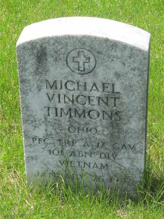 TIMMONS, MICHAEL VINCENT - Franklin County, Ohio | MICHAEL VINCENT TIMMONS - Ohio Gravestone Photos