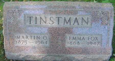 FOX TINSTMAN, EMMA - Franklin County, Ohio | EMMA FOX TINSTMAN - Ohio Gravestone Photos