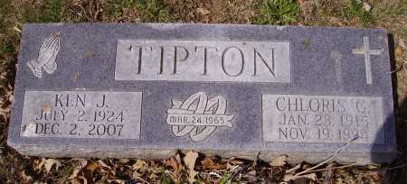 TIPTON, CHLORIS G. - Franklin County, Ohio | CHLORIS G. TIPTON - Ohio Gravestone Photos