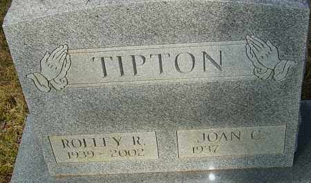 TIPTON, ROLLEY R - Franklin County, Ohio | ROLLEY R TIPTON - Ohio Gravestone Photos
