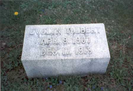 TOLBERT, EVELYN - Franklin County, Ohio | EVELYN TOLBERT - Ohio Gravestone Photos
